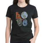 Love Earth Women's Dark T-Shirt