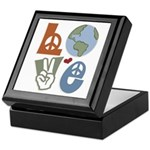 Love Earth Keepsake Box