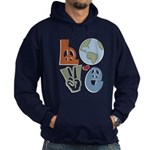 Love Earth Hoodie (dark)