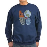 Love Earth Sweatshirt (dark)