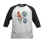 Love Earth Kids Baseball Jersey