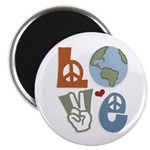 Love Earth Magnet