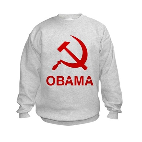 Socialist Obama Kids Sweatshirt