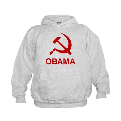 Socialist Obama Kids Hoodie