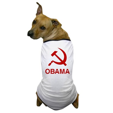 Socialist Obama Dog T-Shirt