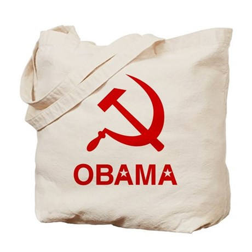 Socialist Obama Tote Bag