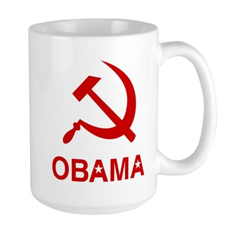 Socialist Obama Large Mug
