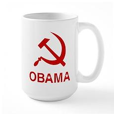 Socialist Obama Large Mug