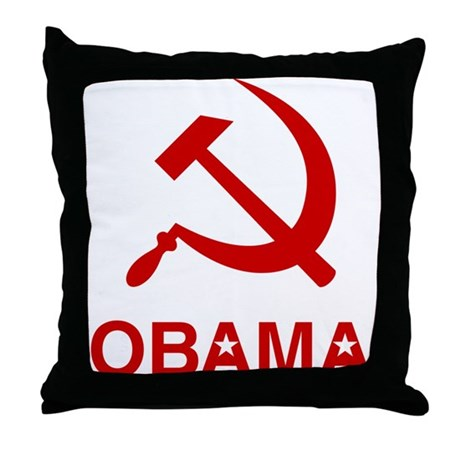 Socialist Obama Throw Pillow