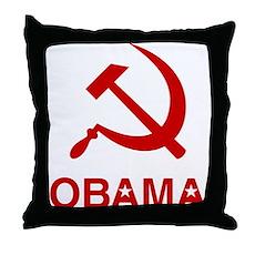 Socialist Obama Throw Pillow