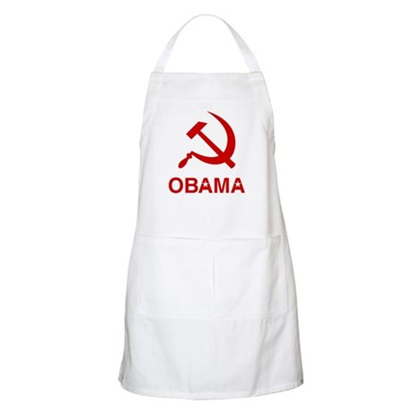 Socialist Obama BBQ Apron