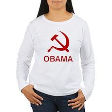 Socialist Obama Womens Long Sleeve T-Shirt