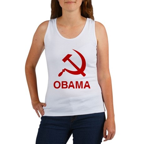 Socialist Obama Womens Tank Top