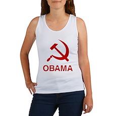 Socialist Obama Womens Tank Top