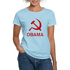 Socialist Obama Womens Light T-Shirt