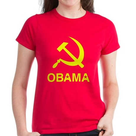 Socialist Obama Womens T-Shirt