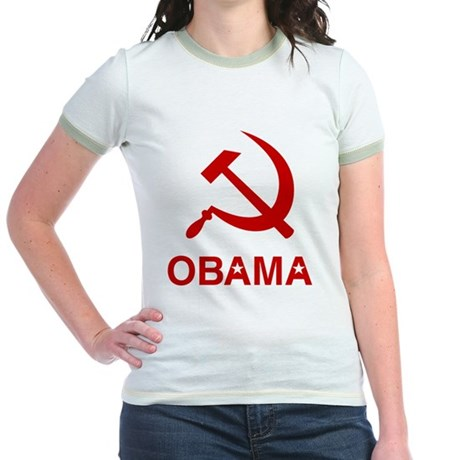 Socialist Obama Jr Ringer T-Shirt