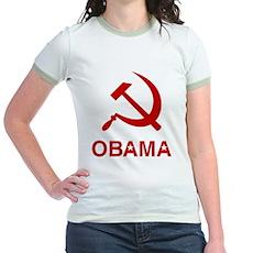 Socialist Obama Jr Ringer T-Shirt