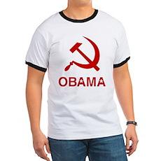 Socialist Obama Ringer T