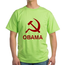Socialist Obama Green T-Shirt