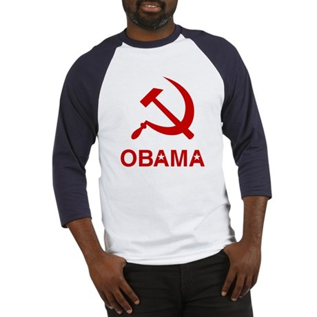 Socialist Obama Baseball Jersey