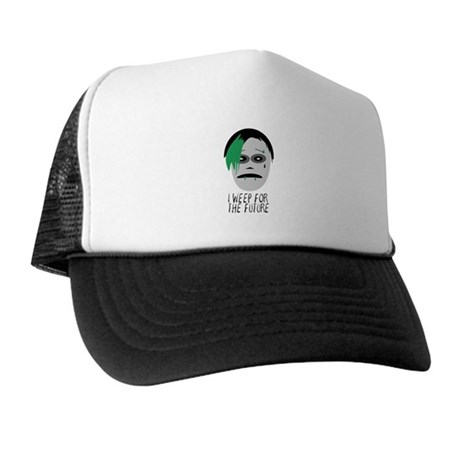 I Weep For The Future Trucker Hat