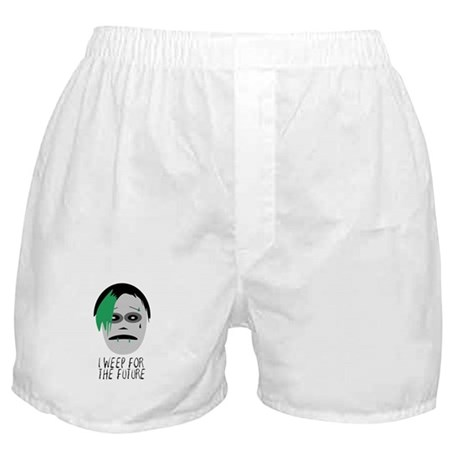 I Weep For The Future Boxer Shorts