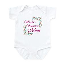 World's Sweetest Mom Infant Bodysuit