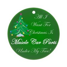 More Muscle Car Parts Ornament (Round)