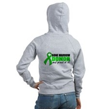 Proud Bone Marrow Donor Zip Hoodie