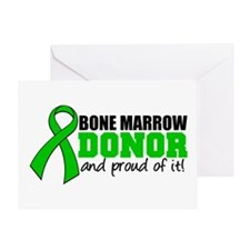 Proud Bone Marrow Donor Greeting Card