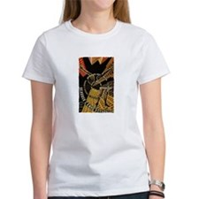 Man with a movie Camera - Women's White T-Shirt