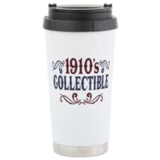 1910's Collectible Birthday Ceramic Travel Mug