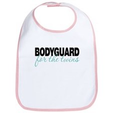 Bodyguard for the twins Bib