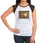 Summer Pig Women's Cap Sleeve T-Shirt