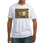Summer Pig Fitted T-Shirt
