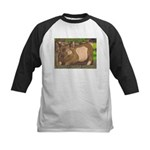 Summer Pig Kids Baseball Jersey