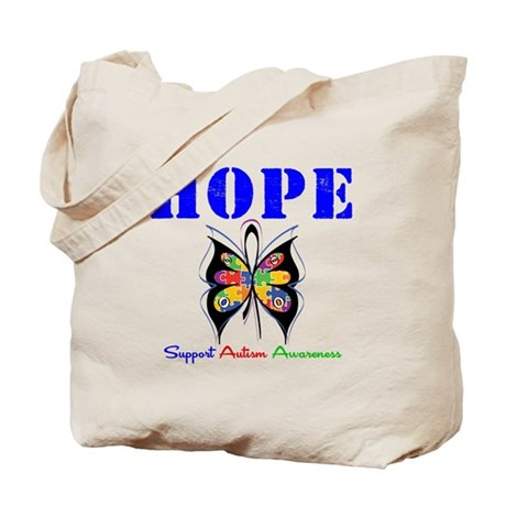 Autism HOPE Tote Bag