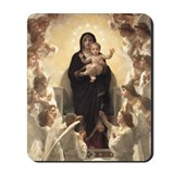 Bouguereau Madonna and Child Mousepad