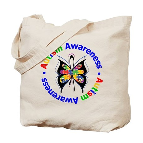Autism FaithLoveCure Tote Bag