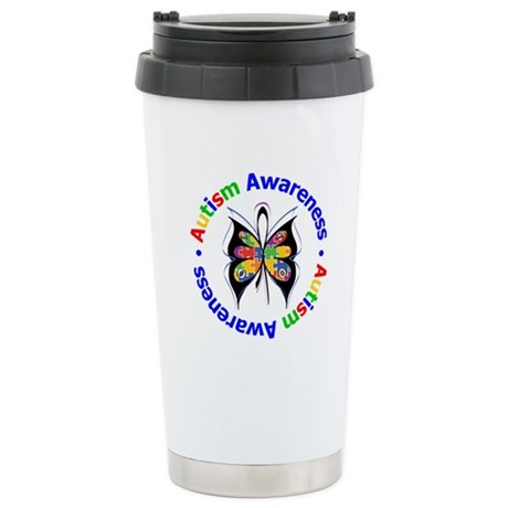 Autism FaithLoveCure Ceramic Travel Mug