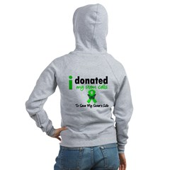 Stem Cell Donor to Sister Women's Zip Hoodie