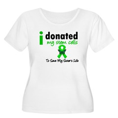 Stem Cell Donor to Sister Women's Plus Size Scoop