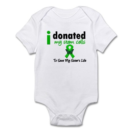 Stem Cell Donor to Sister Infant Bodysuit