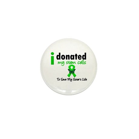 Stem Cell Donor to Sister Mini Button (10 pack)
