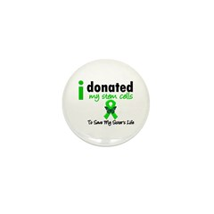 Stem Cell Donor to Sister Mini Button (100 pack)