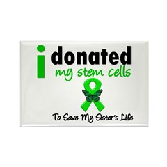 Stem Cell Donor to Sister Rectangle Magnet (100 pa