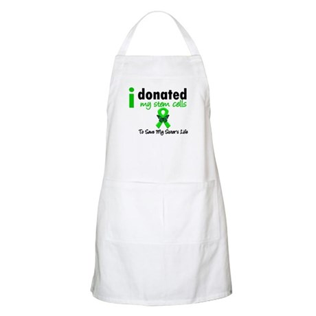 Stem Cell Donor to Sister BBQ Apron