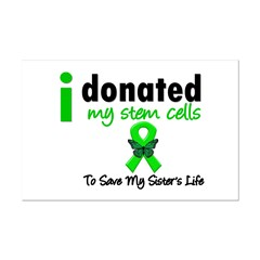 Stem Cell Donor to Sister Mini Poster Print