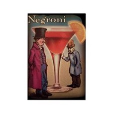 Negroni Rectangle Magnet
